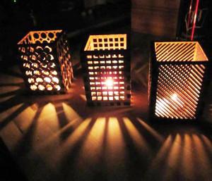 Резные светильники